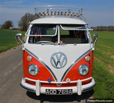 volkswagen van front view classic 1963 vw screen cer van rhd 11 wind