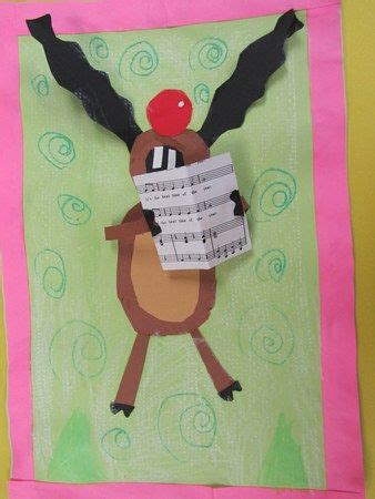 singing reindeer christmas pinterest