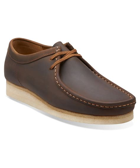 wallabee shoes for clarks s wallabee oxfords shoes in brown for lyst