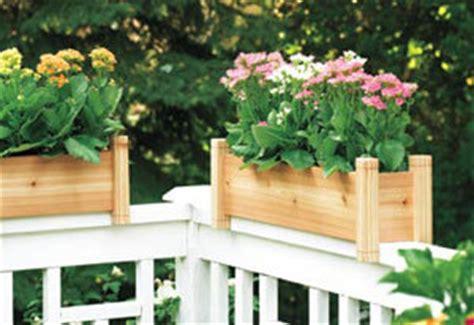 Deck Railing Planter Box Plans by Planter Box Plans Nifty Homestead