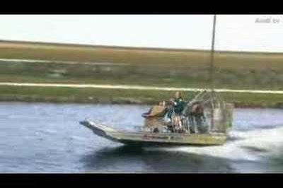 airboat vs car video news and reviews top speed