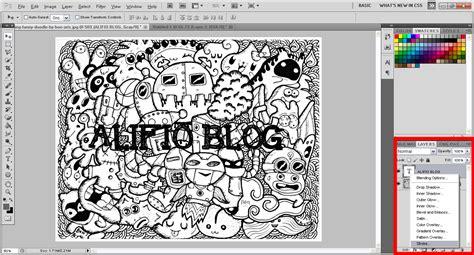 cara membuat doodle name photoshop cara membuat doodle di photoshop alifio s