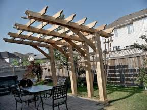 Adding A Pergola To An Existing Deck by Cantilever Pergola Useful Design To Build Over An