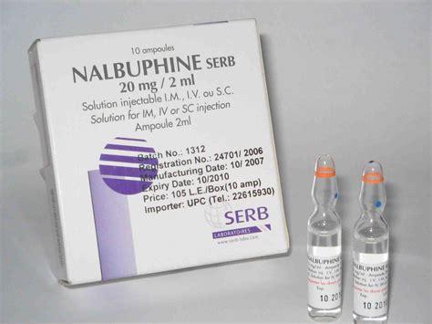 nalbuphine patient information description dosage