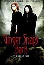 kurt kızların laneti ginger snaps back the beginning