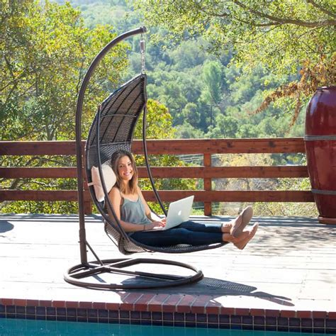 swinging lounge chair 15 outdoor chaise lounges that you can buy right now