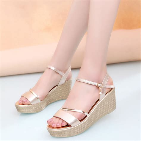 Wedges Sendal Marni Mirror Quality buy wholesale gold platforms from china gold platforms wholesalers aliexpress