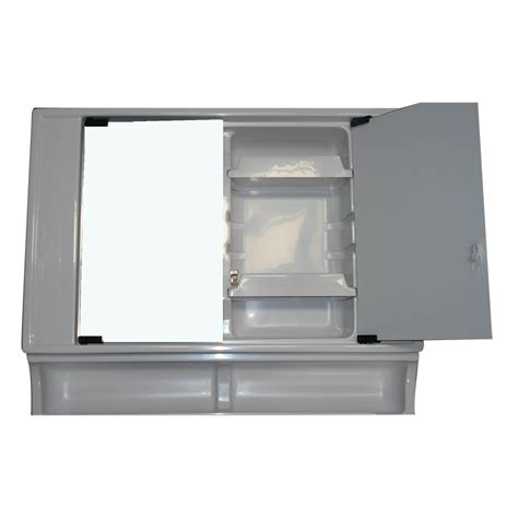 rv bathroom vanity vt90 upper vanity section with mirror doors caravan rv cing