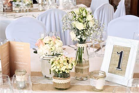 Dekomaterial Hochzeit by Vintage Tischdekoration In Wei 223 Vergissmeinnnicht