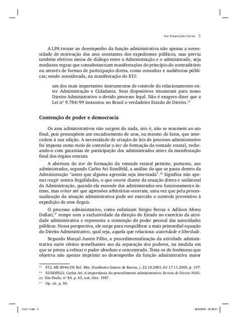 Processo administrativo lei 9784 comentada - Irene Nohara