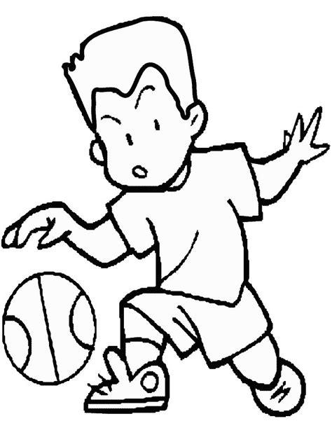 dibujos niños jugando baloncesto ni 241 o jugando a basket hd dibujoswiki com