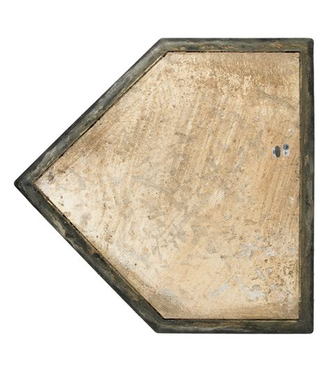 lot detail used yankee stadium home plate from