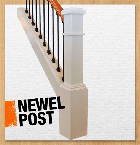 banister pole a newel post supports a stair banister and usually anchors
