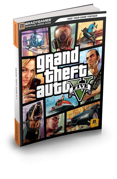 gta 5 bureau grand theft auto v signature series guide скачать