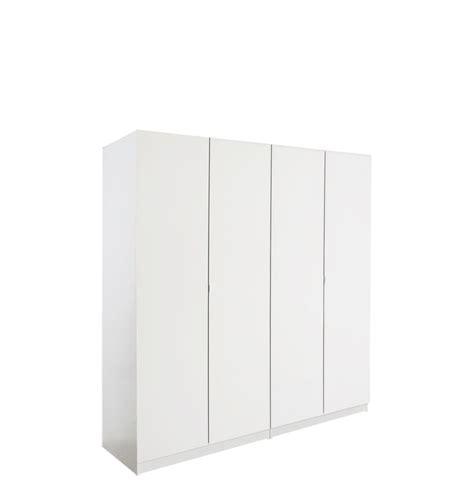 4 Door Wardrobe Closet by Alta 4 Door Wardrobe Closet Basic Package Free Standing