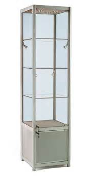 Glass Display Cabinets Glass Display Cabinet Or Showcase Higgins Ie