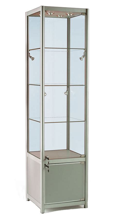 Locker Cabinets by Glass Display Cabinet Or Showcase Higgins Ie
