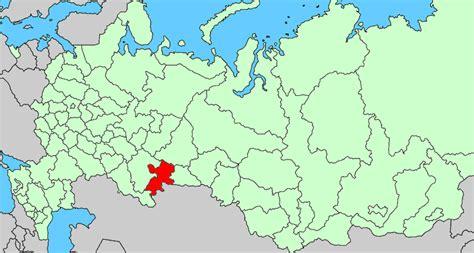 chelyabinsk map chelyabinsk oblast