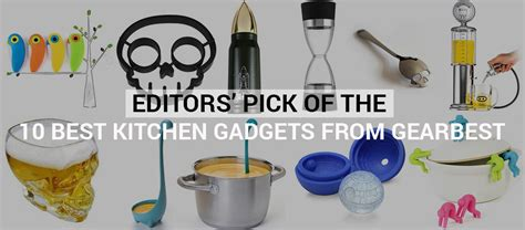editors of the 10 best kitchen gadgets from gearbest