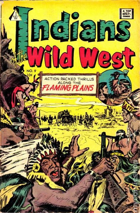 a reader classic reprint books indians of the west 1958 i w reprint comic books