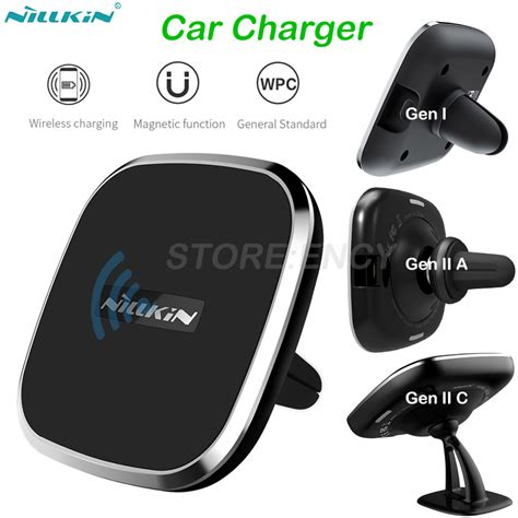 Samsung Galaxy Note 8 Nillkin Qi Wireless Charger Pad Magnetic Charg nillkin qi wireless charger pad car charger for samsung galaxy note 8 s8 s8 wireless charging