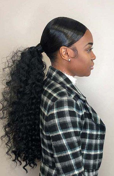 classy ponytail hairstyles  women hair ponytail