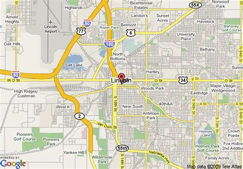 directions to lincoln ne map of the cornhusker marriott hotel lincoln