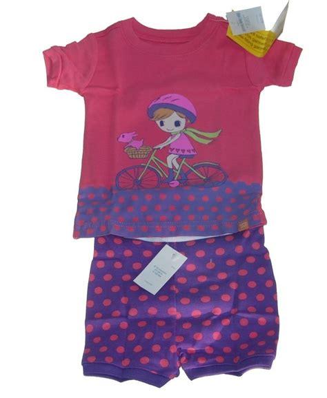 Baby Gap Sleepers by Baby Gap Pink Bicycle Pajamas Pjs 6 12 Mos Nwt New Nip Ebay
