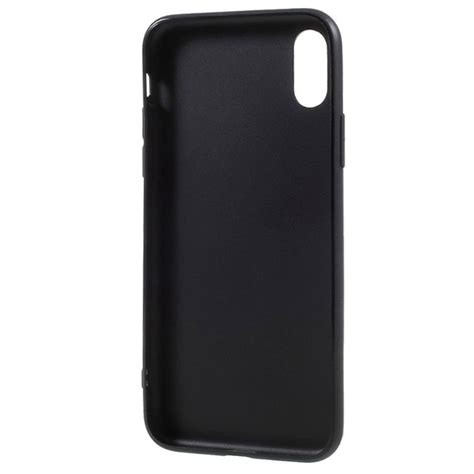 iphone x iphone xs anti fingerprint matte tpu black