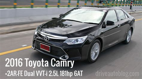 2016 Toyota Camry 2 5 G At toyota camry 2 5g 2016 driveautoblog