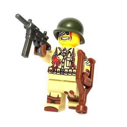 Lego Minifigures Fly 1 custom lego 174 minifigure injured us soldier