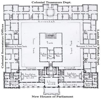parliament house floor plan the architect queensland parliament