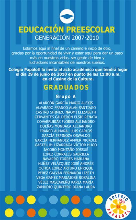invitaciones graduacion preescolar invitaci 243 n evento de graduacion preescolar graduacion