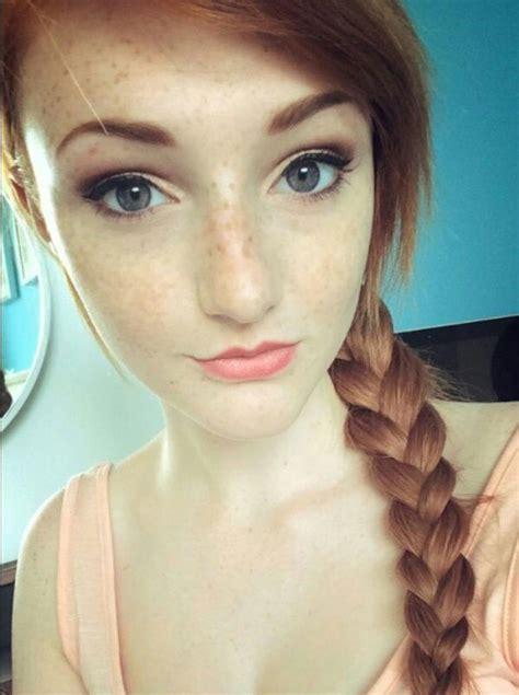 Hot redhead braided women