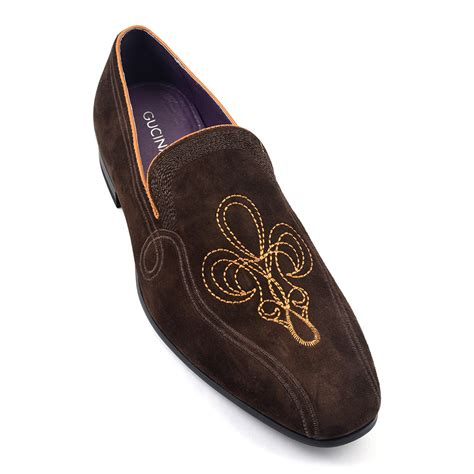 brown suede loafers buy mens brown suede loafer gucinari style