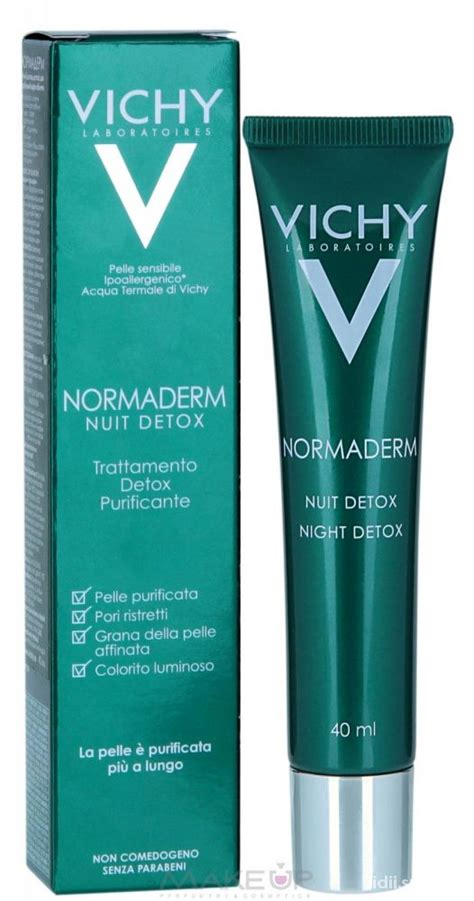 Vichy Normaderm Detox How To Use by Vichy Normaderm Nuit Detox W Twarz Szafa Pl