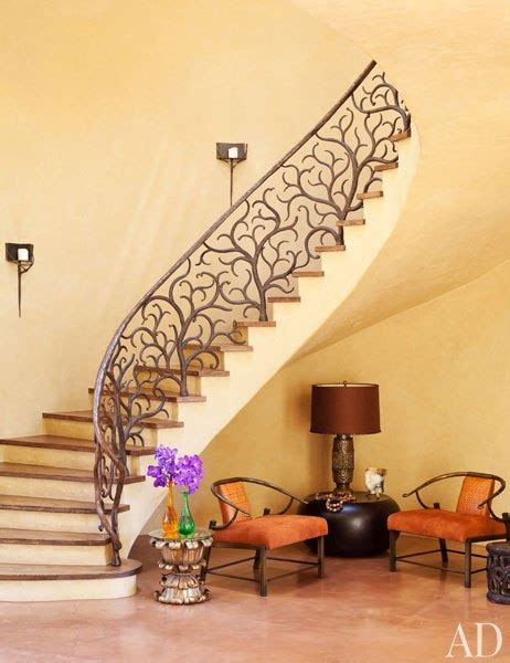 online staircase design will and jada pinkett smith s malibu home celebrity cribs