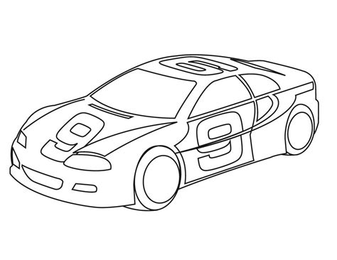 Free Printable Sports Coloring Pages For Kids Sports Car Coloring Page