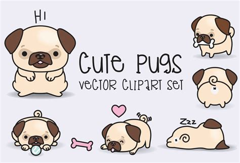 stuff for pugs pug clipart free clip free clip on clipart library