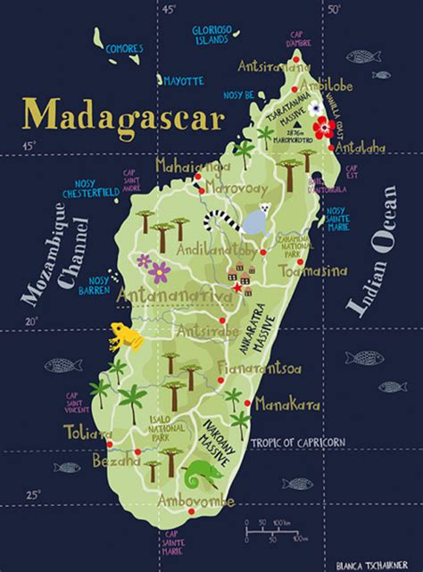 madagascar map image of madagascar 187 travel