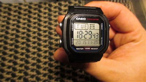 Casio Standard W 800h 1av casio w 800h 1aves edc uhr