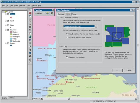 tutorial software arcgis arcgis publisher packaging