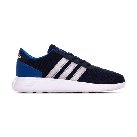 adidas neo lite adidas neo lite racer boys sports trainer shoe navy blue