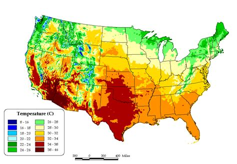 usa temp map united states temperature cellular coverage road