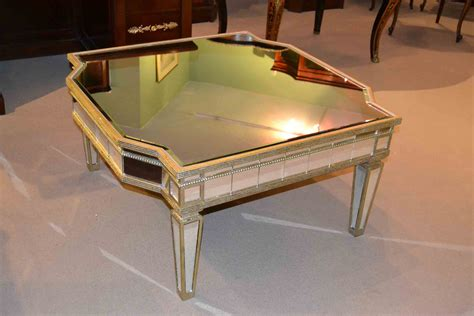 Large Mirrored Coffee Table Stunning Deco Large Mirrored Coffee Table Ref No 03263