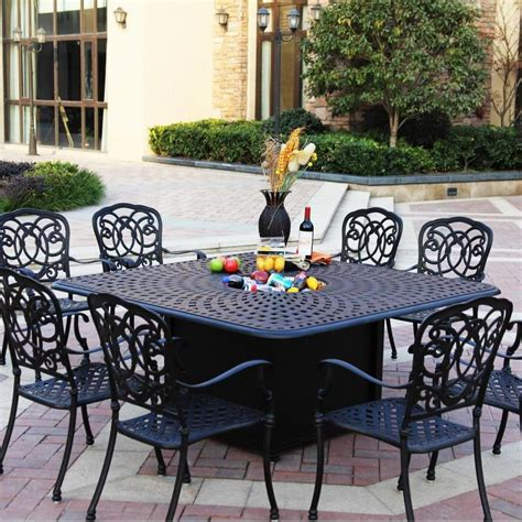 patio dining sets with pits 25 best ideas about pit table on outdoor patio set with