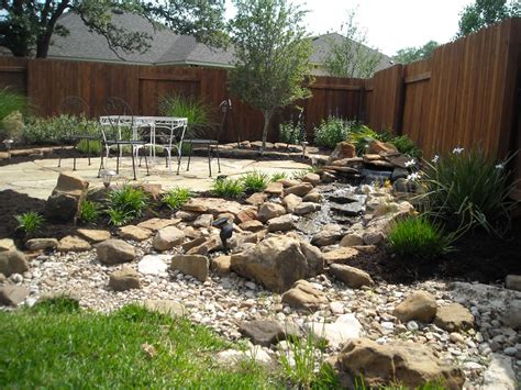 Rock Creek Garden Rock Landscaping Ideas Gardens Landscaping Landscape