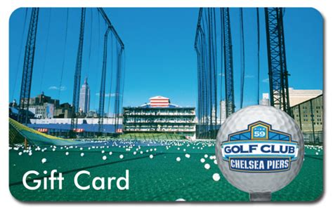Nyc Gift Cards - golf gift ideas from chelsea piers lessons ball cards chelsea piers new york