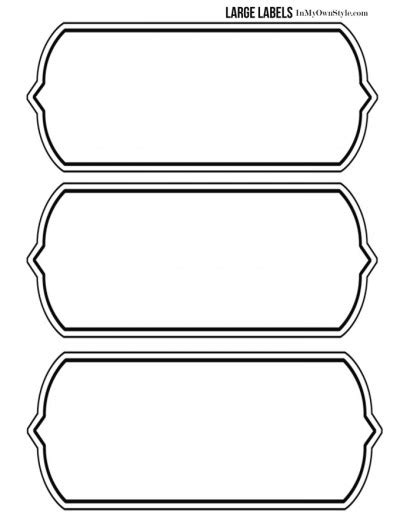 printable labels large free printable labels for large storage bins in my own style