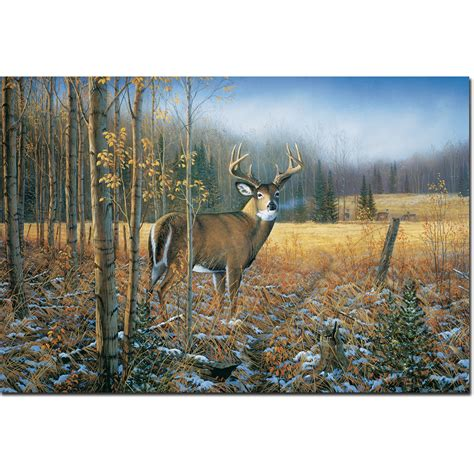 whitetail deer home decor november whitetail deer 24 inch x 16 inch wall art wgi